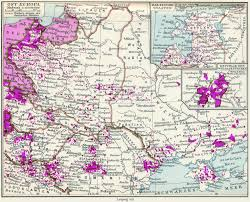Maps Of Eastern Europe by A 1932 Map Of The Ethnic German Population In Eastern Europe