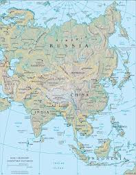 South Asia Blank Map by Asia Physical Map Asian Physical Map Map Of Asia Asia Map Asia