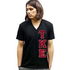 fraternity greek twill shirts with sewn twill letters