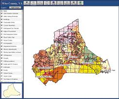 Federal Circuit Court Map Esri News Arcnews Spring 2002 Issue Wise County Virginia