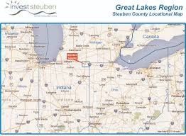 Indiana lakes images Great lakes region location map invest in northern indiana lakes jpg