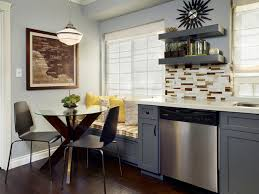 how to plan a small kitchen layout plan a small space kitchen hgtv