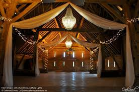 Ceiling Drapes With Fairy Lights Drapes Wedding And Event Lighting By Oakwood Events