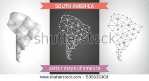 south america dot map south america map vector free vector stock