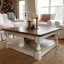 Coastal Style Coffee Tables Coffee Table Coastal Distressed Wood Coffeeable Setscoastal