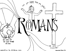 romans book of the bible coloring pages coloring page