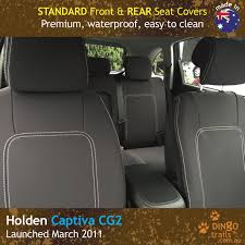 Car Seat Covers Melbourne Cheap Holden Captiva 7 Seater Neoprene Car Seat Covers