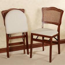 Folding Dining Chairs Wood Dover Back Wooden Folding Chair Pair