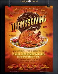 Thanksgiving Dinner Menu Template 18 Thanksgiving Flyers Free Psd Ai Eps Format Download Free
