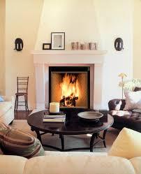 awesome fireplace design featuring brown ceramic corner fireplace