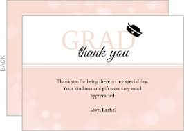thank you cards for graduation graduation thank you cards