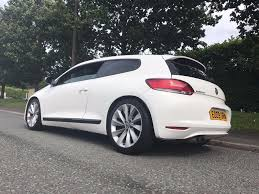 2009 candy white volkswagen scirocco 2 0 tsi 3 door 6 speed manual