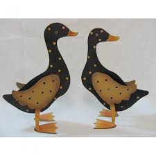 Duck Home Decor Duck Home Decor Metal Polka Dot Ducks 2 Set Home Decor
