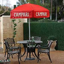 Aluminum Patio Umbrella by Destinationgear 6 Ft Aluminum Campari Logo Patio Umbrella Hayneedle