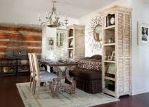 Decorating A Credenza 50 Cool And Creative Shabby Chic Dining Rooms