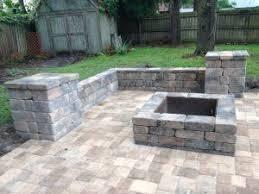 Firepit Brick Pits Bay Brick Pavers