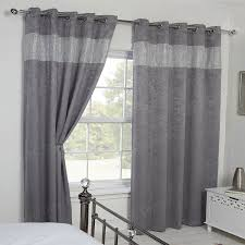Grey Curtains 90 X 90 90 X 72 Blackout Eyelet Curtains Gopelling Net