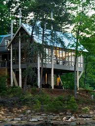 waterfront house plans stilts houzz