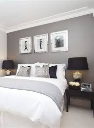 contemporary chic bedroom home pinterest accent walls
