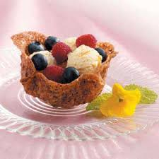 dessert baskets cookie fruit baskets recipe taste of home