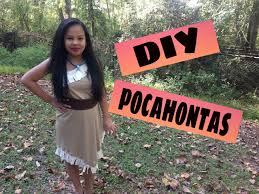 diy pocahontas costume wickedkuwl youtube