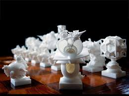 Unique Chess Pieces University Students Change The Game With Parametric Chess Piece