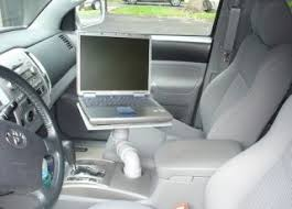 Truck Laptop Desk Turn Your Car S Cup Holder Into A Laptop Stand