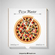 pizza box vector premium download