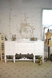 Cottage Style Buffet by Painted Cottage Chic Shabby French Server Buffet Sideboard