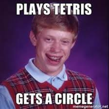 Overly Attached Girlfriend Meme Generator - bad luck brian 10 unlucky facts about the man and meme
