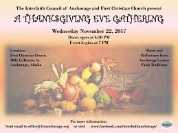 thanksgiving interfaith service great idea church visits