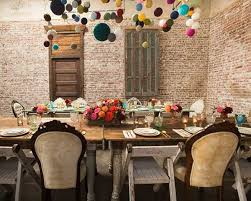 Decor For Baby Room Colorful Pompons Table And Wall Decor For Baby Shower Room Decorating