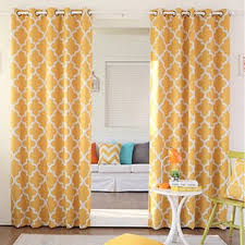 Leaf Design Curtains Yellow Curtains U0026 Drapes Shop The Best Deals For Nov 2017