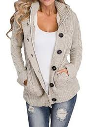 oberora womens 3 4 sleeve hollow shawl knit cardigan outwear