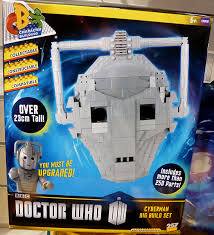 build a doctor doctor who character building cyberman big build set