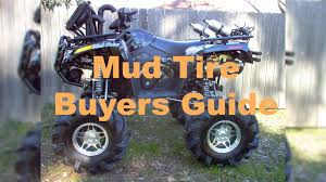 trail guide tires atv mud tire buyers guide youtube
