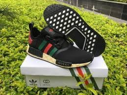 adidas x gucci adidas nmd x gg sneakers aestheticprints