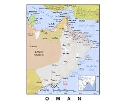Map Of Al Maps Of Oman Detailed Map Of Oman In English Tourist Map