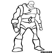 superheroes coloring pages page 1
