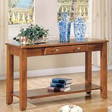 Oak Sofa Table Logan Oak Sofa Table By Sam S Club