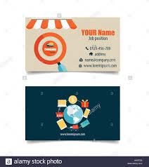 Business Card Template Online Modern Business Card Template With Business Concept Online