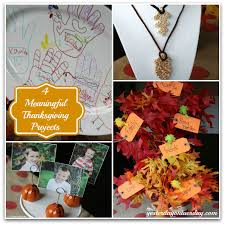 4 meaningful thanksgiving projects yesterday on tuesday