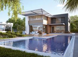 modern house with pool middle east talents awards