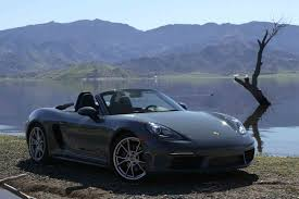 green porsche boxster 2017 porsche 718 boxster s tested on ignition motor trend