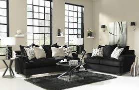 Black And White Sofa Set Designs Color Your Living Room With Awe And Couch Loveseat Set For More