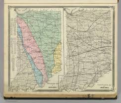 Maps Of Indiana Geological Map Of Indiana Climatological Map Of Indiana David
