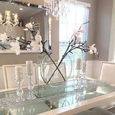 Dining Room Decorating Ideas by Best 25 Glass Dining Table Ideas On Pinterest Glass Dining Room