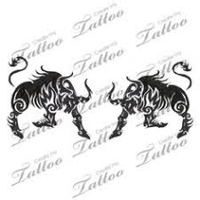 chinese zodiac tribal ox bull filipino tattoos pinterest