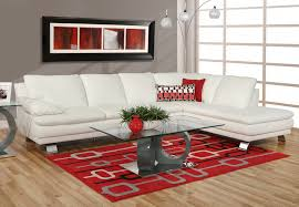 Sectional White Leather Sofa S Furniture Sectionals