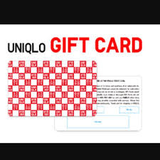 wtb uniqlo gift card tickets vouchers on carousell